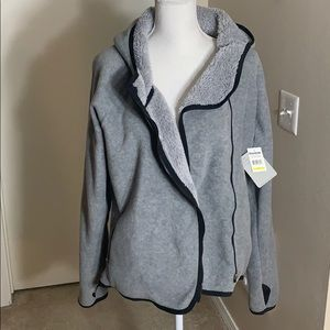 NWT Reebok fleece jacket